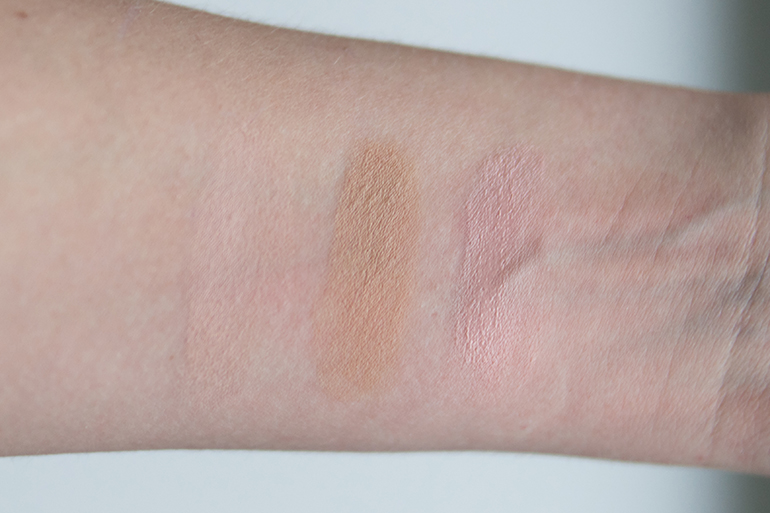 RED REIDING HOOD: Beauty blogger review MUA Pro-Base Conceal & Brighten Kit swatches