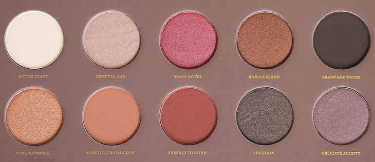RED REIDING HOOD: beauty blogger review Zoeva cocoa blend palette in the pan