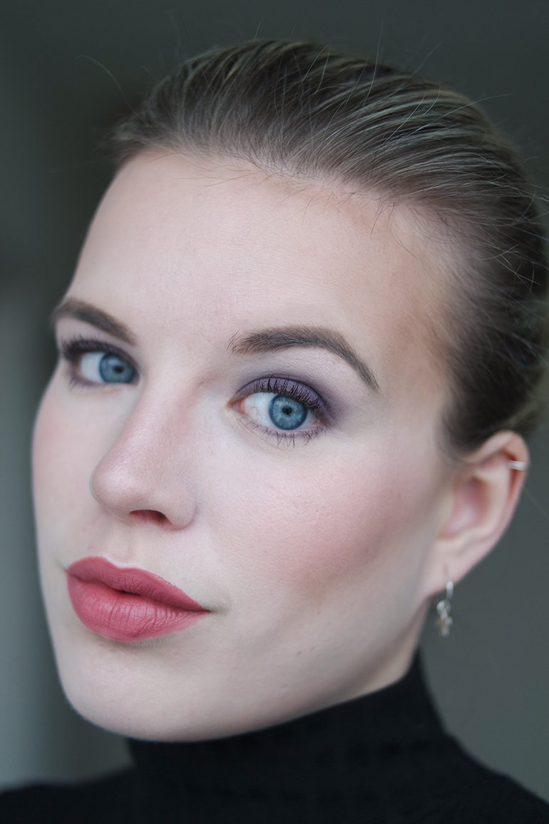 RED REIDING HOOD: Beauty blogger MAC Twig lipstick full face look review
