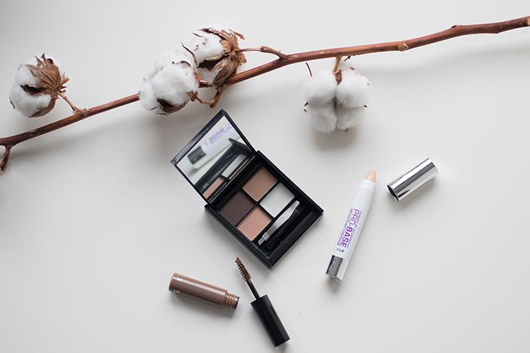 RED REIDING HOOD: Beauty blogger review MUA brow kit brow mascara pro-base argan plush concealer