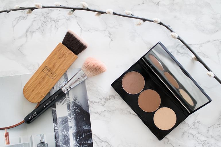 RED REIDING HOOD: Beauty blogger review Sans Soucis contouring kit contour bronze highlight