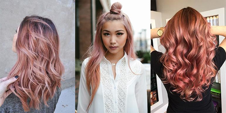RED REIDING HOOD: Rose gold hair inspiration pinterest