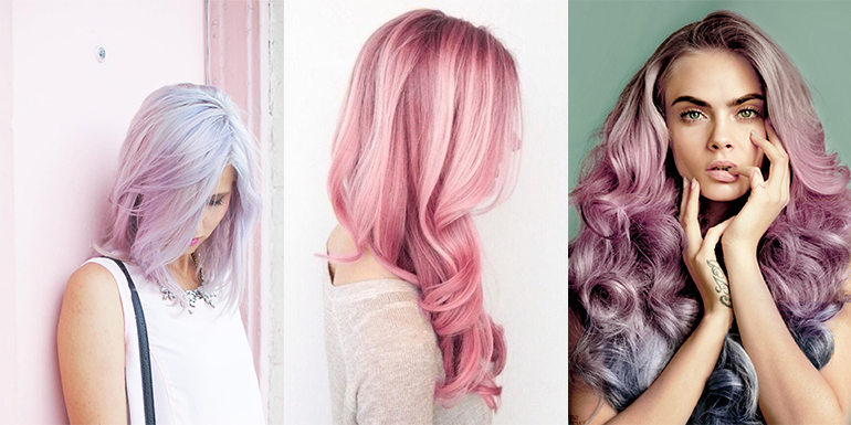 RED REIDING HOOD: rose quartz serenity hair inspiration pinterest