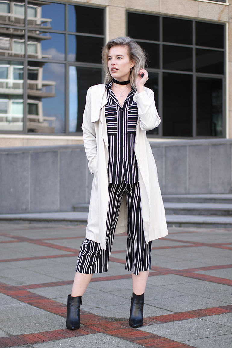 RED REIDING HOOD: WE Fashion Studio Collection striped suit pyjamas outfit