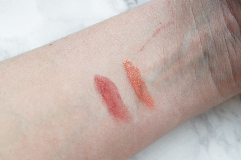 RED REIDING HOOD: Sans Soucis Perfect Lips Every Day Lip Balm cherry toffee apricot supreme swatches beauty blogger review