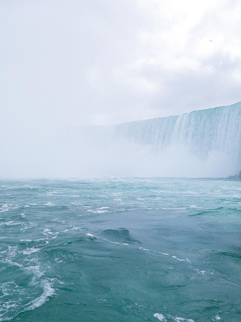 RED REIDING HOOD: Hornblower boat tour Niagara Falls Ontario Canada experience