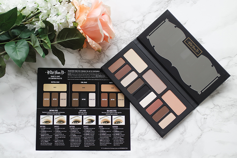 RED REIDING HOOD: Beauty blogger Kat Von D Shade + Light Eye Contour palette review