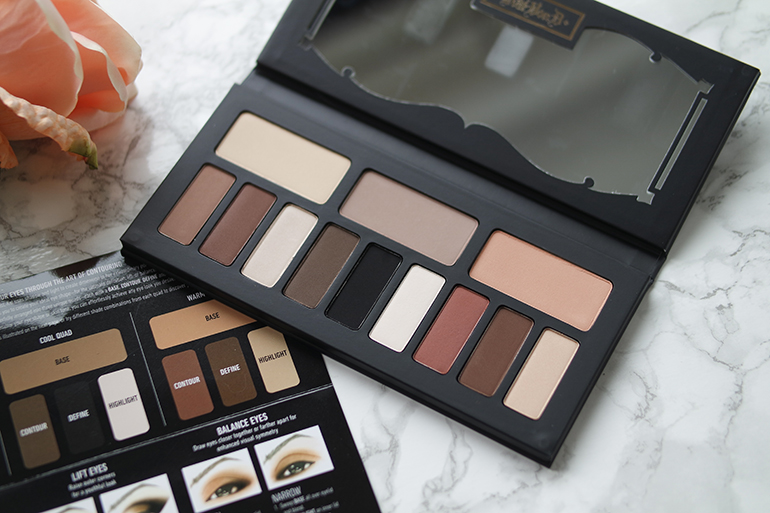 RED REIDING HOOD: Beauty blogger Kat Von D Shade + Light Eye Contour palette review colors