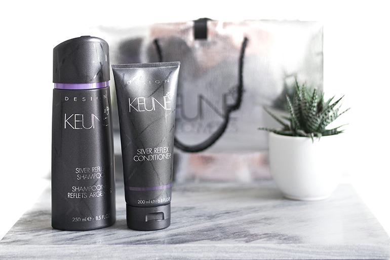 RED REIDING HOOD: Beauty blogger review Keune Silver Reflex Shampoo and Conditioner