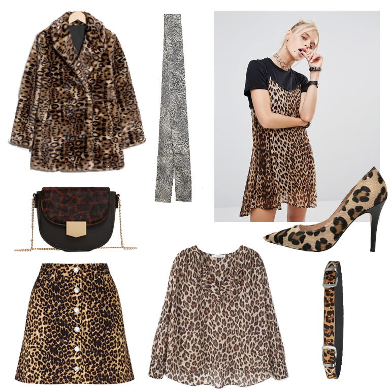 RED REIDING HOOD: Fashion blogger leopard print