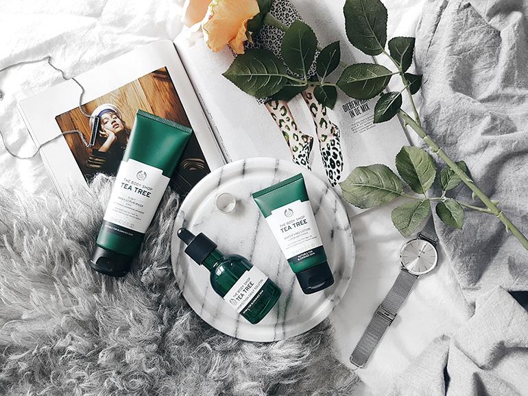 RED REIDING HOOD: The Body Shop Tea Tree Skin Care Range beauty blogger review