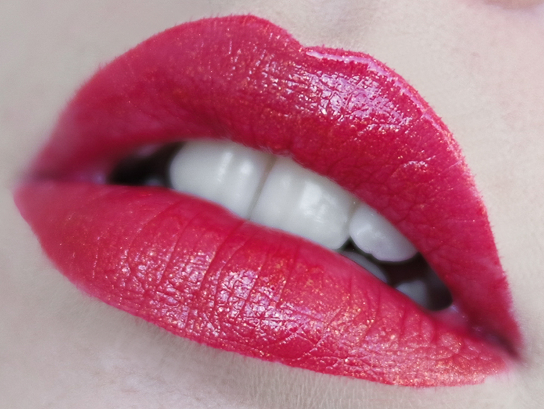 RED REIDING HOOD: Beauty blogger review MUA Limited Edition Metallic Liquid Lipstick Glitz