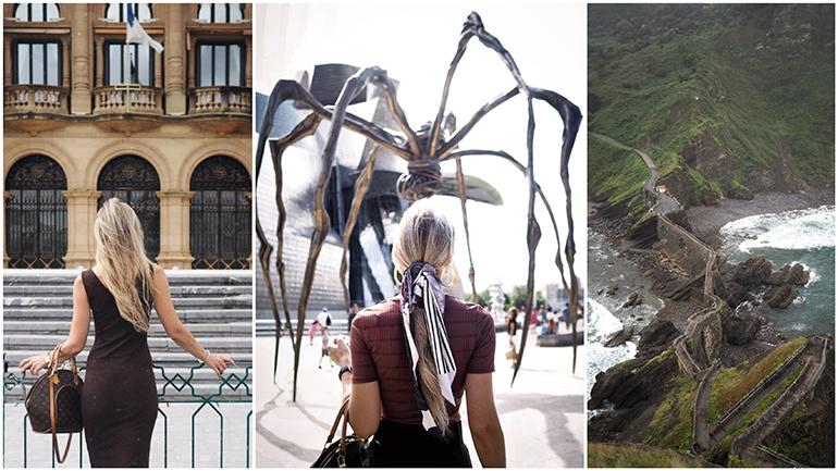 Bilbao Guggenheim Spider San Sebastian San Juan de Gaztelugatxe