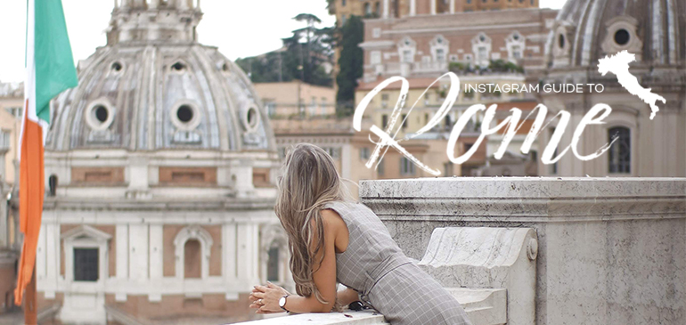 12 Best Rome Instagram Spots for influencers photography places